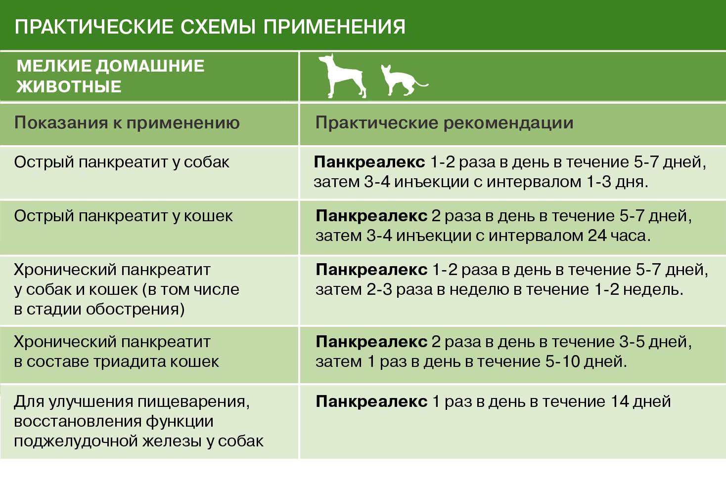 Панкреалекс — инструкция по применению для кошек и собак